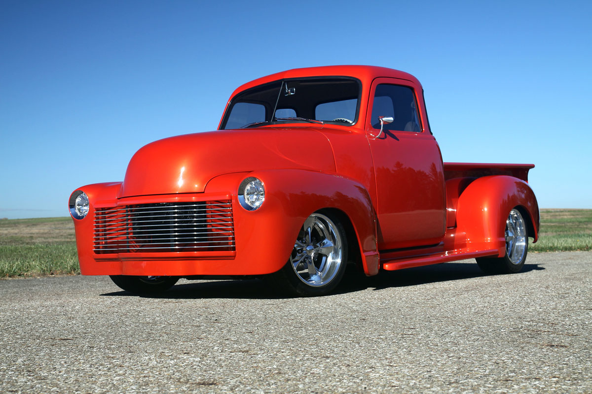 1951 Chevy 3100 Full Modification Truck Rowes Rod And Custom Llc Seats