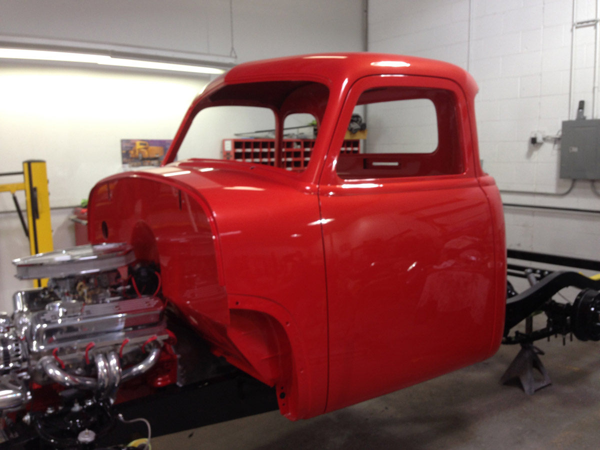 1951 Chevy 3100 Full Modification Truck Rowes Rod And Custom Llc Chevrolet Bel Air Convertible Developer